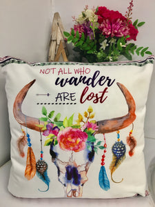 "Boho Spirit ""Wanderer"" Cushion"