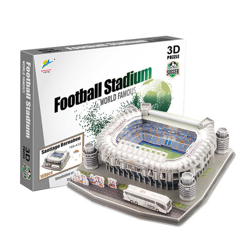 2018 new product Football field Model Camp Nou Paper DIY Toys soccers For Children gift dropshipping