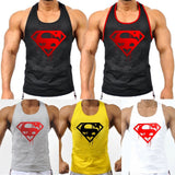 2017 Mens Vintage Blood Superman Gym Bodybuilding Stringer Sport Athletic Tank tops