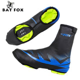 BATFOX Bike Shoes Cover Cycling Neoprene Sport Waterproof Bicycle Cycling Overshoes Racing Bike Protector Overshoes Shoes Cover