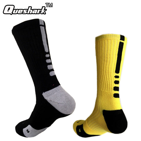 Brand Outdoor Sport New Elite Cycling Socks Men Long Coolmax Basketball Soccer Socks Male Compression Socks Men Athletic Socks