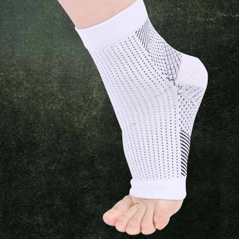 Elastic Compression Sports Protector Basketball Soccer Ankle Support Brace Guard New