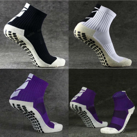 GLCO New Football Socks Anti Slip Soccer Socks Men Good Quality Cotton Calcetines The Same Type As The Trusox ZK008