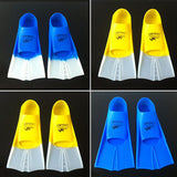 H432 Free shipping Swimming diving short flippers snorkeling equipment lightweight diving equipment flipper