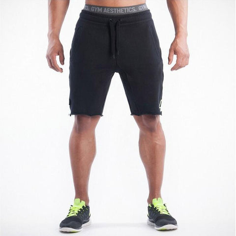 Men's Grey Gym Shorts