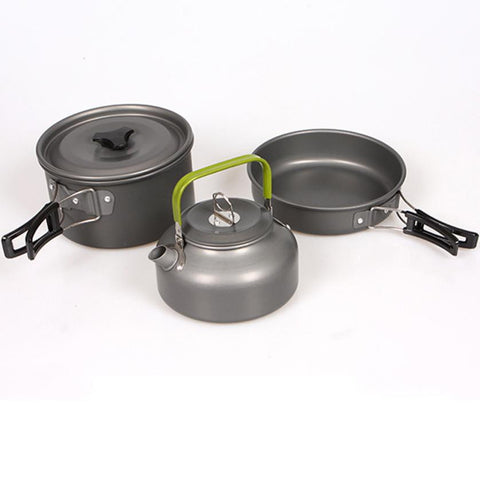 High Quality Aluminum Outdoor Cookware Set