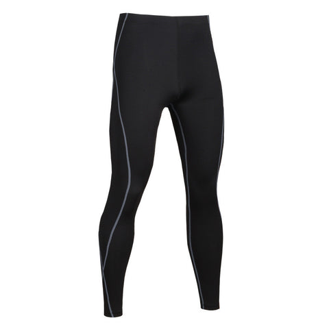 Men's Black Compression Pants