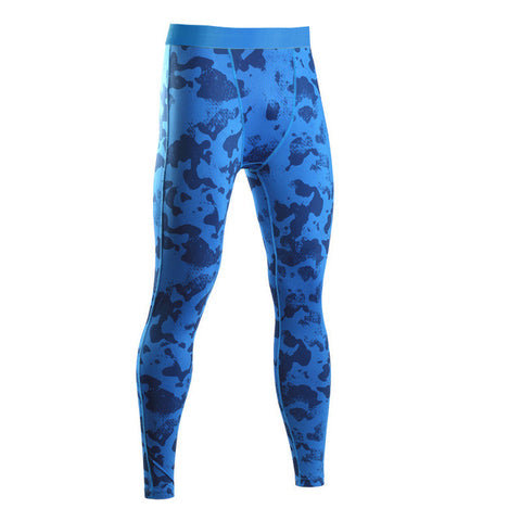 Men's Camo Compression Pants