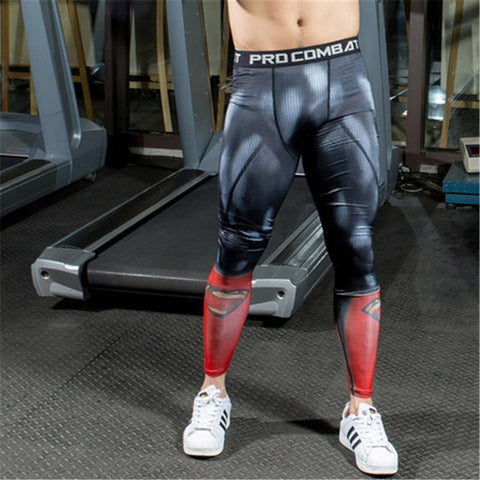Men's 'Superman' Compression Wear