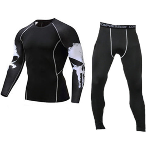 Men's Compression Set (Pants+Top)