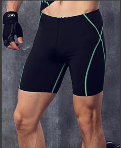 Men's Black Compression Shorts