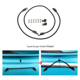 "2 Pcs 12"" Bungee Paddle Holder Paddle Keeper Rod holder Rod keeper Bungee Cord for Kayak Canoe Boat"