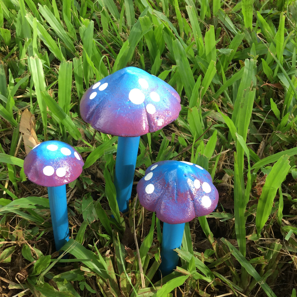 Mushroom Family Small - Set of 3 different sizes
