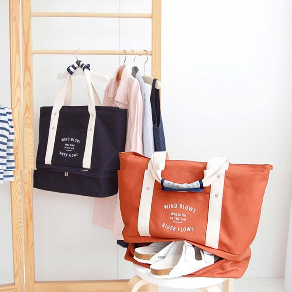 On-the-Go Tote Bag (With Secret Shoe Compartment)