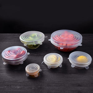 Reusable Instant Lid-Bowl Cover (6pcs)