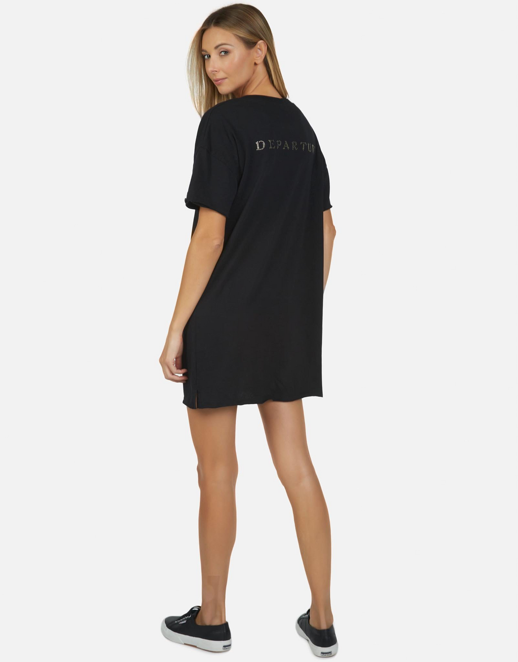 Oversized T-Shirt Dress Journey Vintage by Lauren Moshi