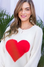 White Sweater, Red Heart