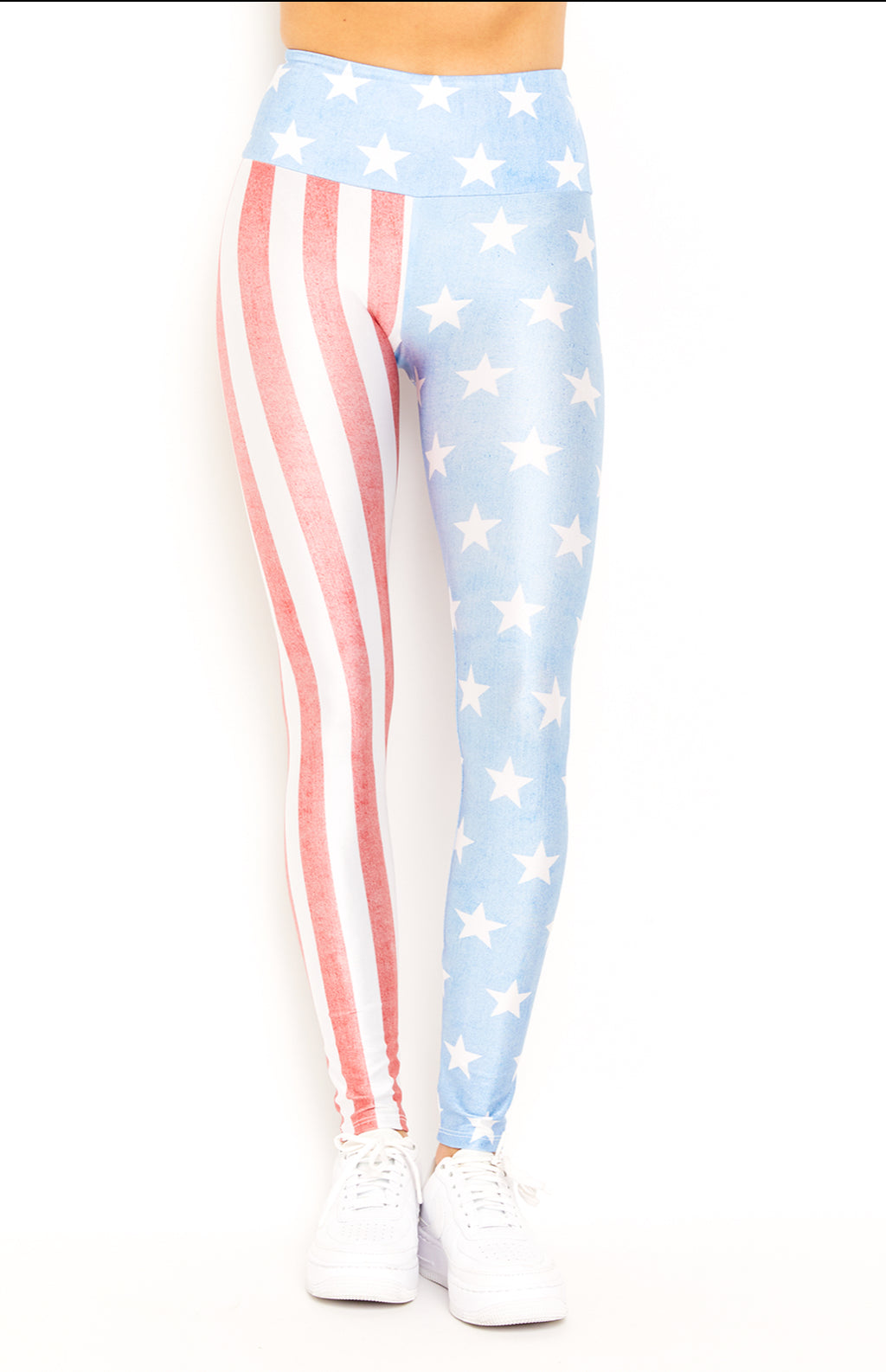 Vintage Flag Goldsheep Leggings