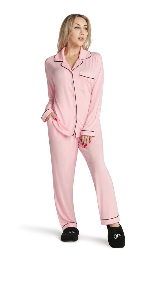 Lightweight Pajama Set -Fluent French