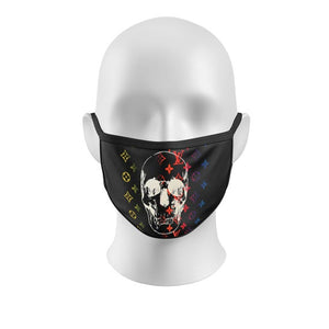 LV Skull Fashion Mask