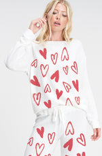 Red and White Heart Set