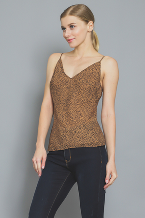 Leopard Sleeveless Cami