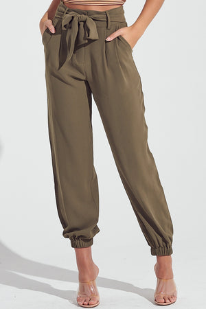 Paperbag Ankle Joggers