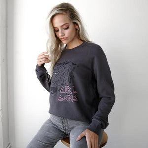 Girl Gang Cheetah Sweatshirt