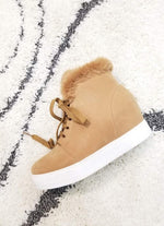 Camel Ankle Rise Bootie