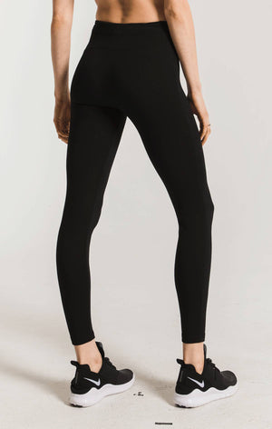 The Mod Stretch Legging Black