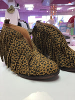 Cheetah Fringe Boot