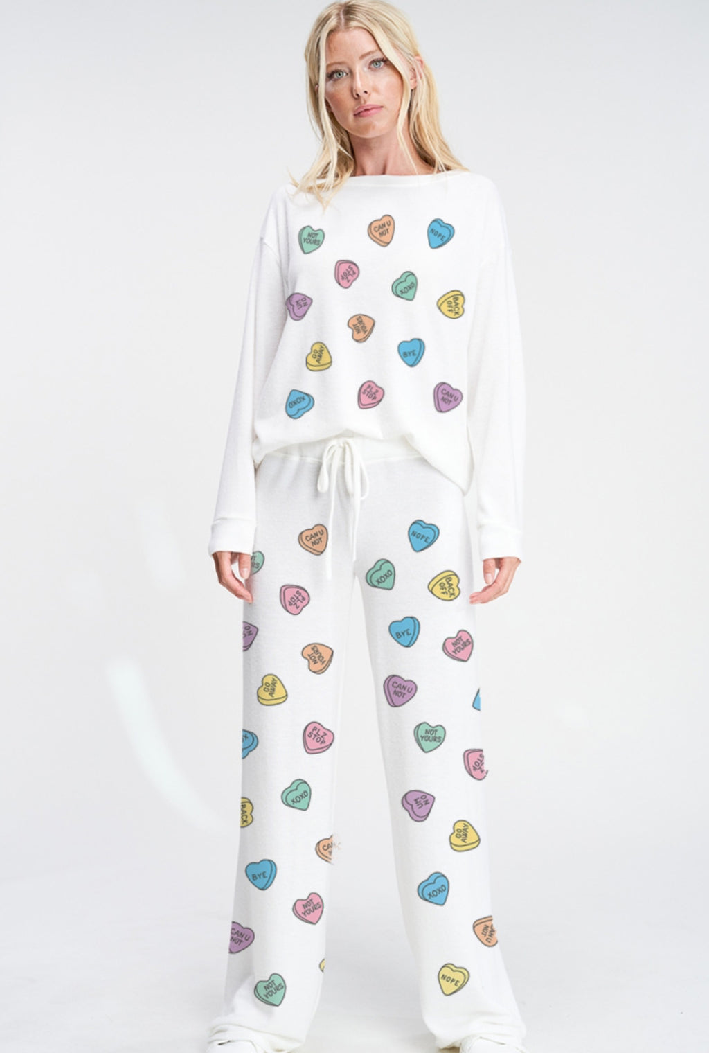 Heart Candy Loungewear Set