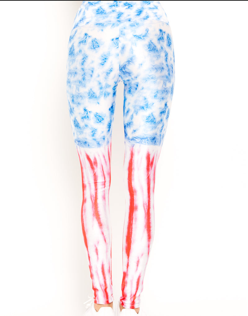 USA Tie Dye Leggings