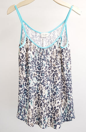 Leopard Cami Knit Top