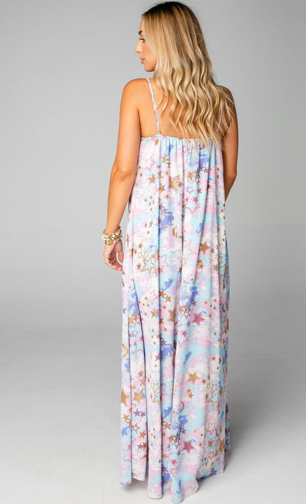 Cloud 9 Sleeveless Maxi Dress