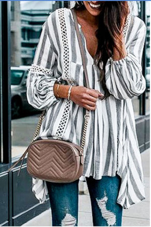 Puff Sleeve Tunic Top