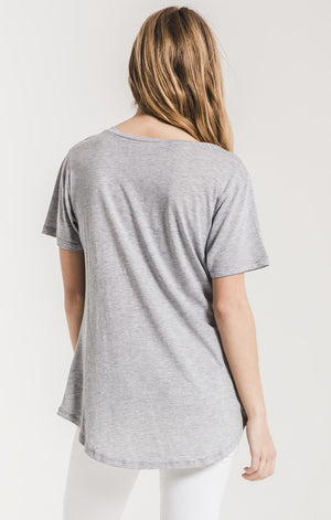 Premium Sleek Jersey Pocket Tee