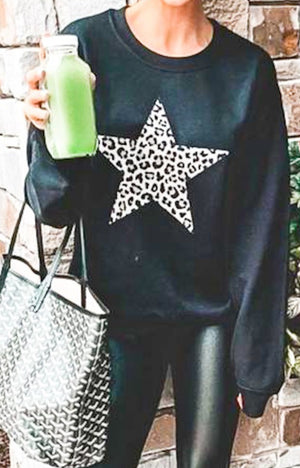 Leopard Star Long Sleeve