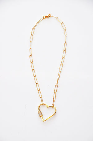 Miranda Pendant Heart Necklace