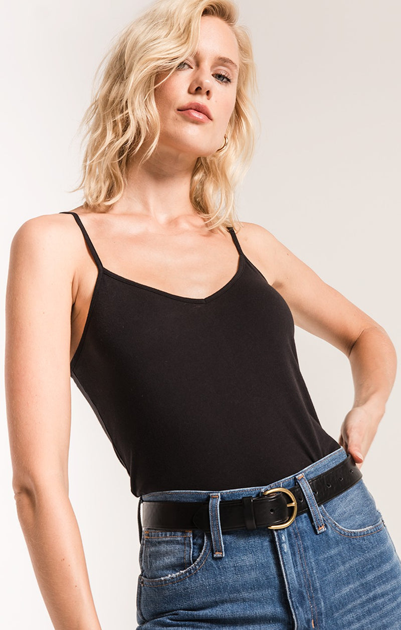 The Perfect Cami Top-Black