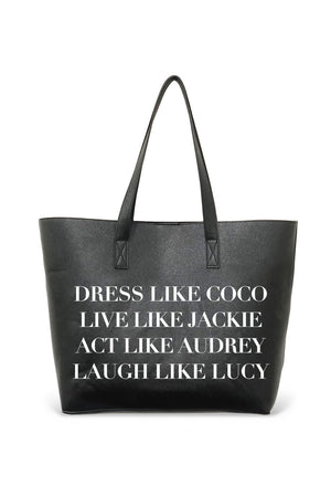 The Vegan Tote-Dress Like Coco