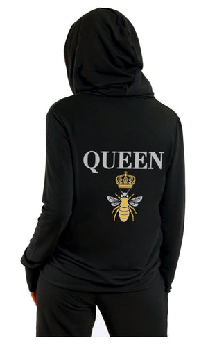 Queen Bee Zip Up