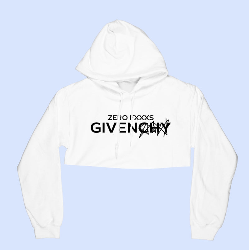 Zero Given Cropped Hoodie