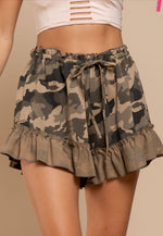Wild Out Ruffle Shorts