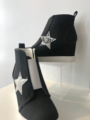 High Top Wedge Sneaker