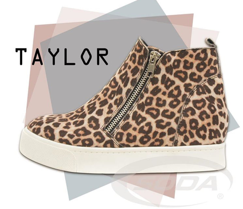 The Taylor Cheetah High Top Sneaker