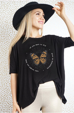 If you want to fly-Mimi Tee