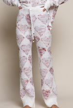 Pink Teddy Heart Pant