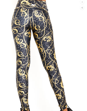 Chains & Graffiti Leggings