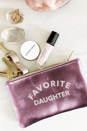 Vegan Pouch Favorite Daughter Pink